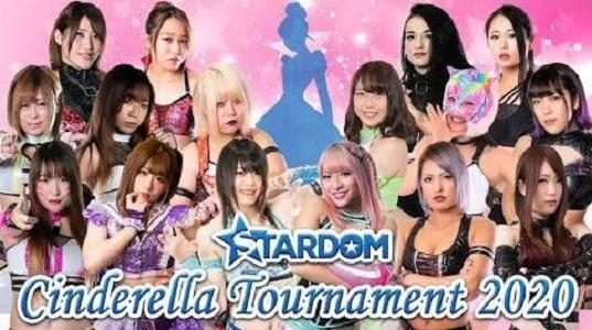 Stardom Cinderella Tournament 2020 Poster