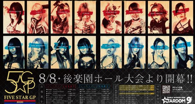STARDOM 5☆STAR GP 2020 Day 1 Poster