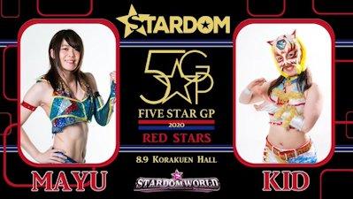 Mayu Iwatani vs. Starlight Kid