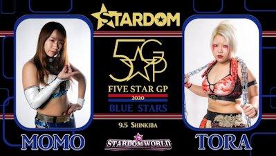 Momo Watanabe vs. Natsuko Tora