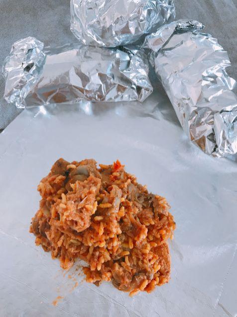 Mexican Chicken Burrito Filling