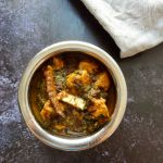 Simple Instant Pot Chicken Spinach Curry