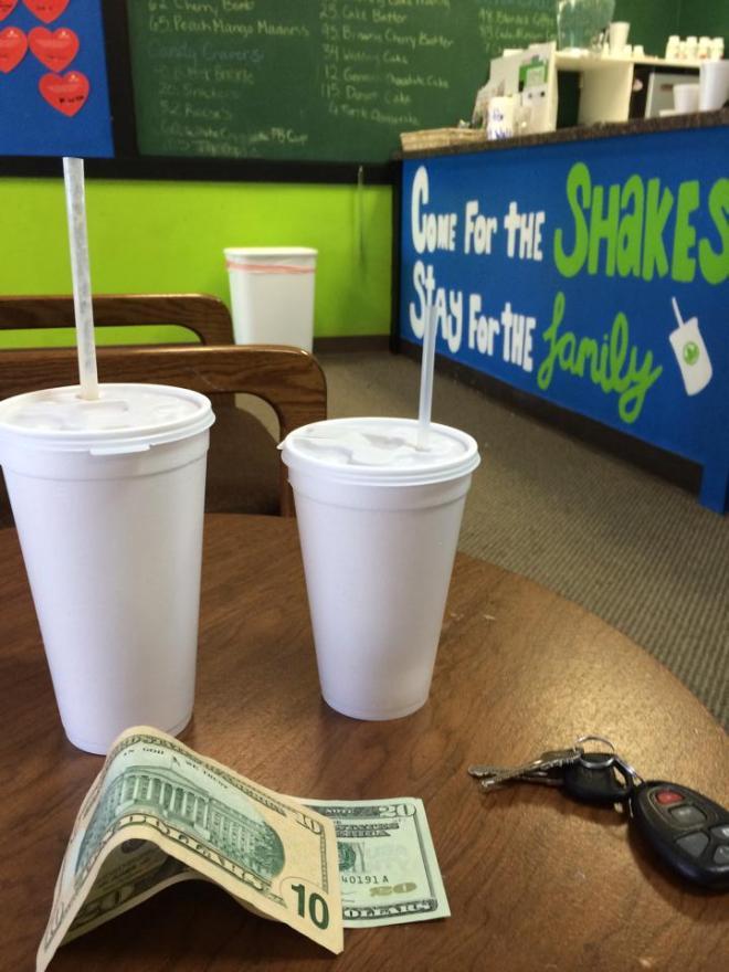 shake money