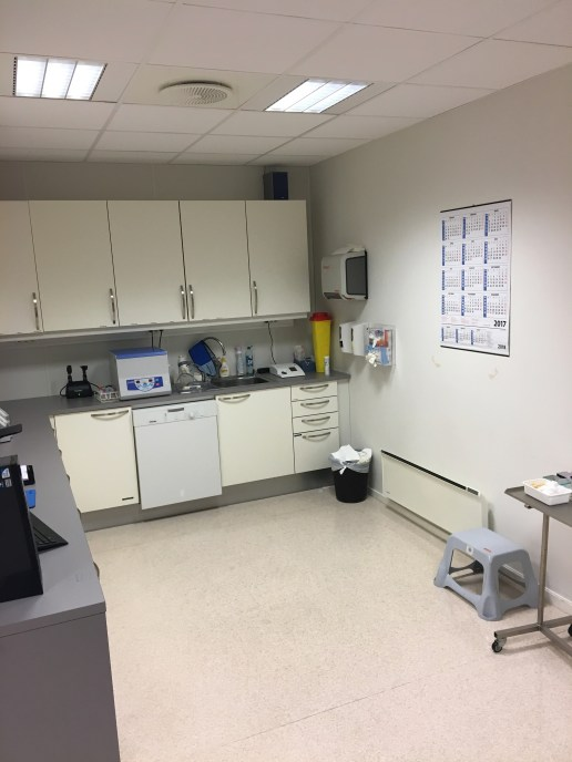 The GP clinic lab capable of running the basic tests described above.