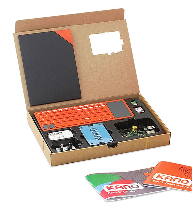 Kano do it yourself computer kit in the box