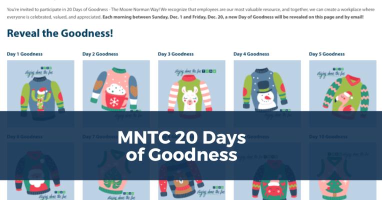 20 Days of Goodness