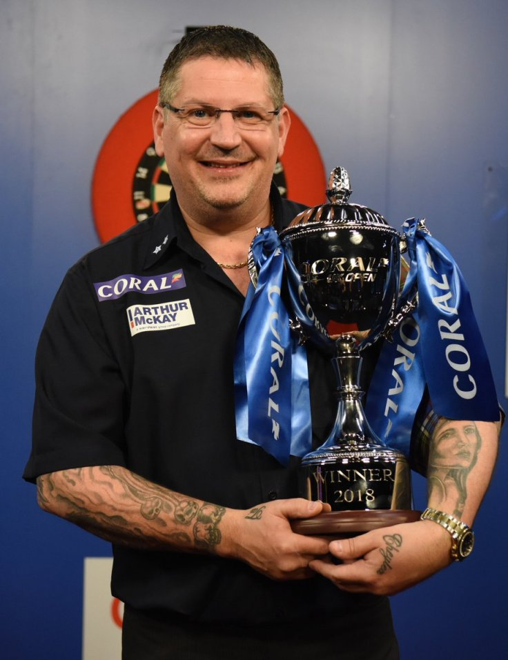 Gary Anderson 2018 UK Open