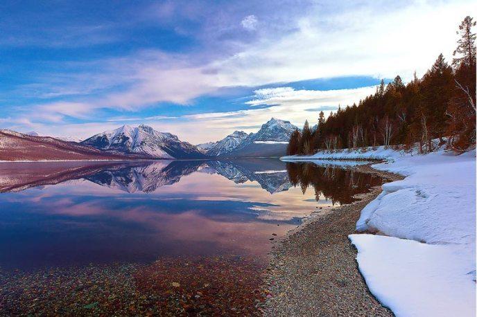Reflections of Glacier