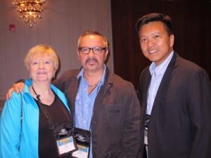 with Diane Capri and Vincent Zandri