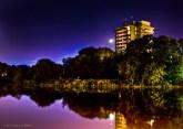 The Calm Moonlit Lake