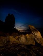 Light Painted Rocks