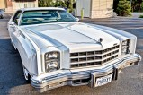 White Luxury Car 2