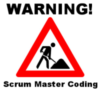 Warning Scrum Master Coding