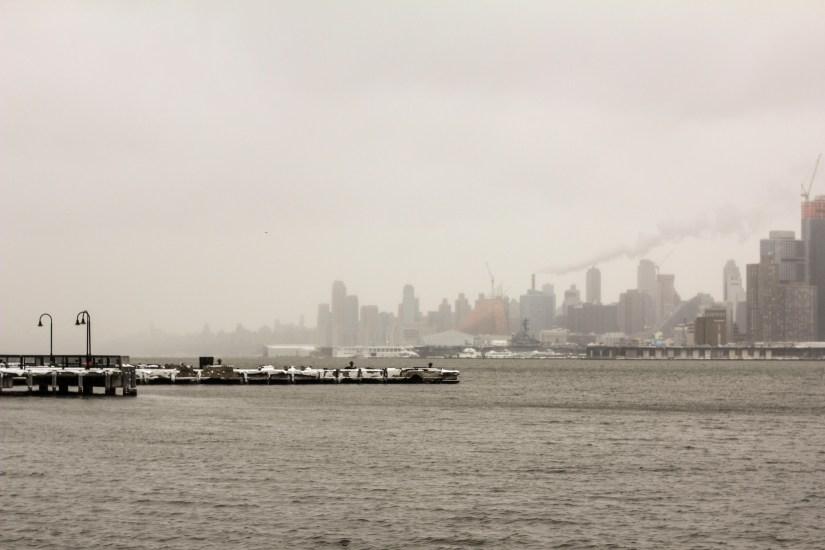 HobokenNYSkylineSnow