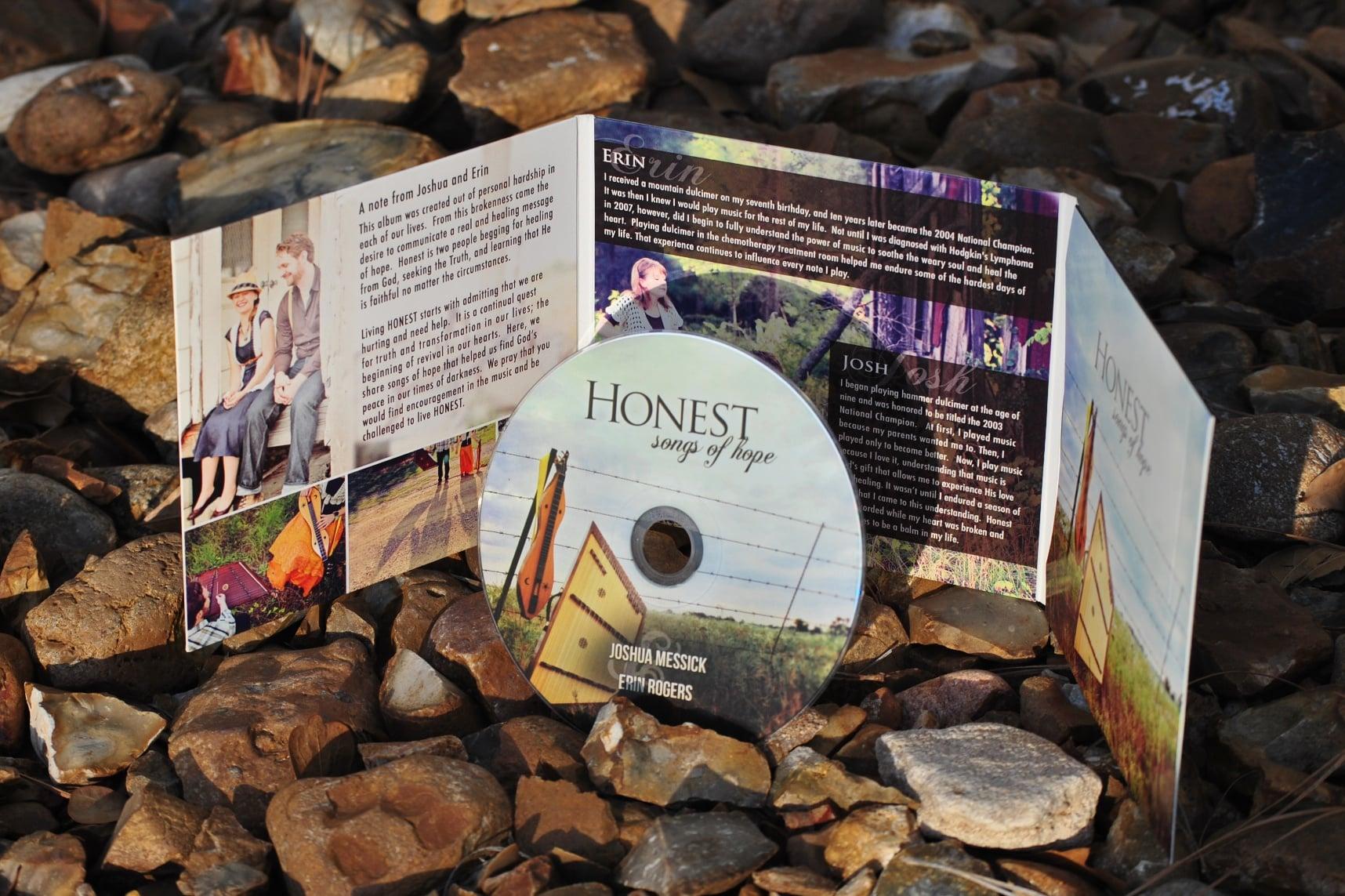 Honest: Songs of Hope - Acoustic Instrumental Dulcimer Music