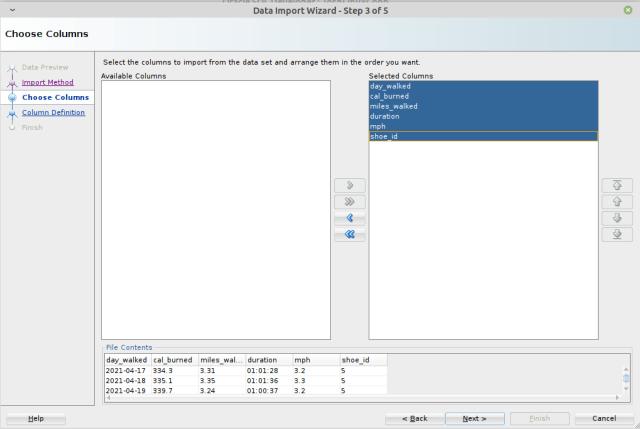 oracle-sql-developer-choose-target-columns