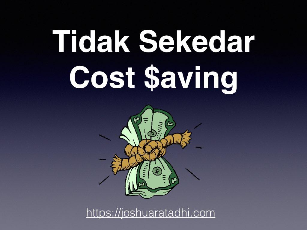 Cost Saving .001