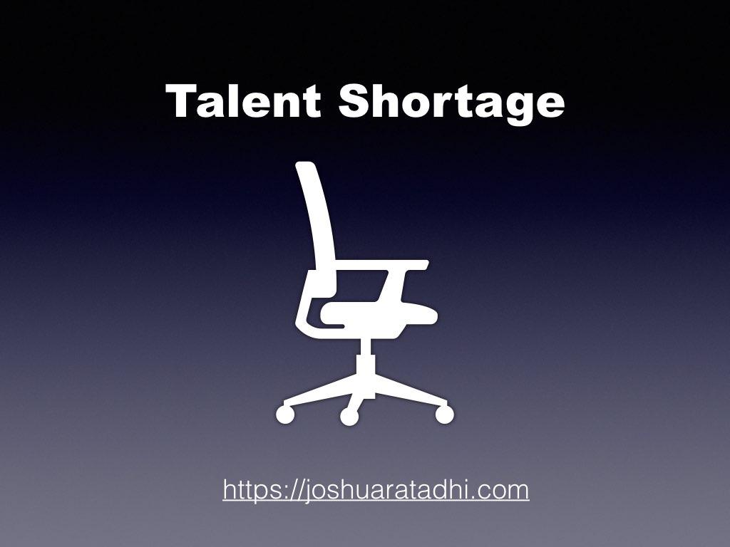 Talent Shortage .001