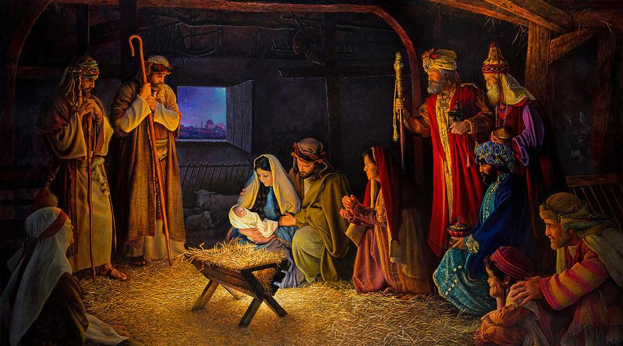 The Nativity, by Greg Olsen
