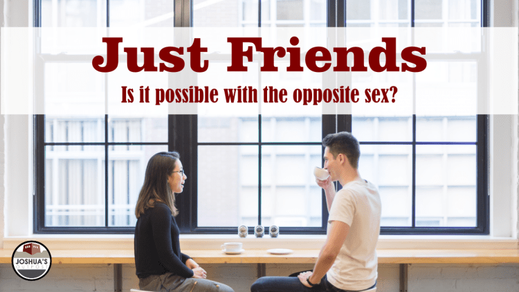 Can you be friends with the opposite sex?