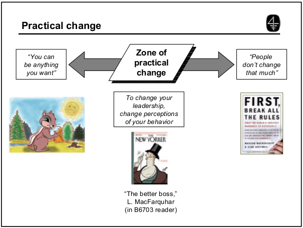 Practical change