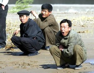Squatting in North Korea