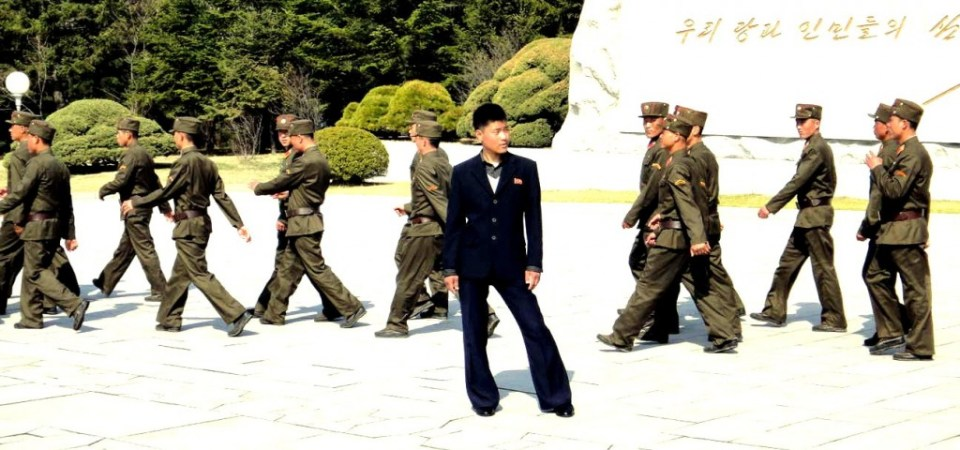 Interesting character in North Korea