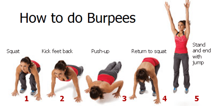 My style of burpees