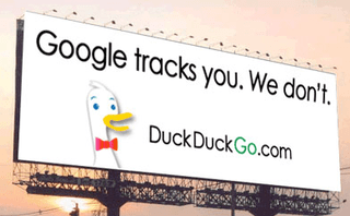 Google tracks you, DuckDuckGo doesn't