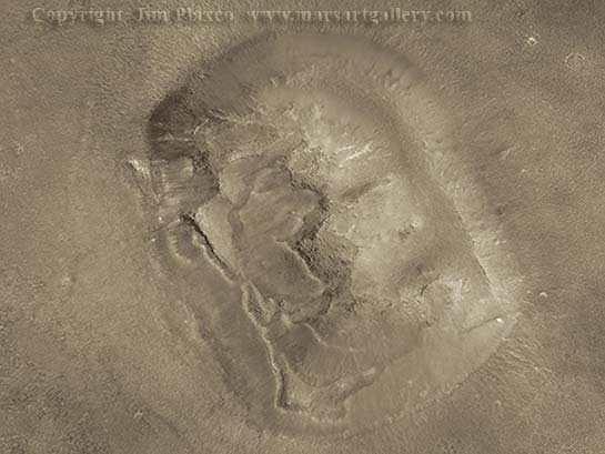 Mars Face Higher Resolution