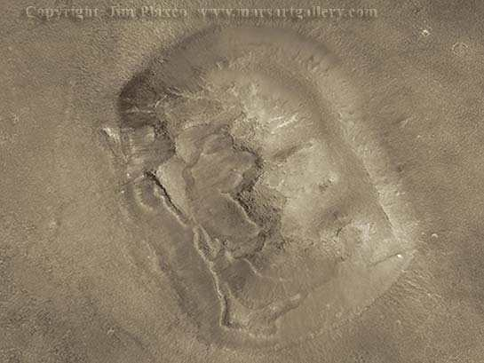 Mars Face Higher Resolution