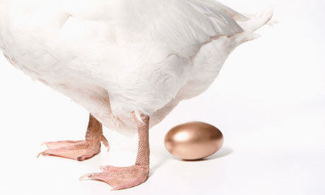 Goose and golden egg