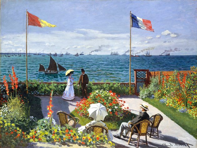 Monet_-_Jardin_à_Sainte-Adresse_1867_33659