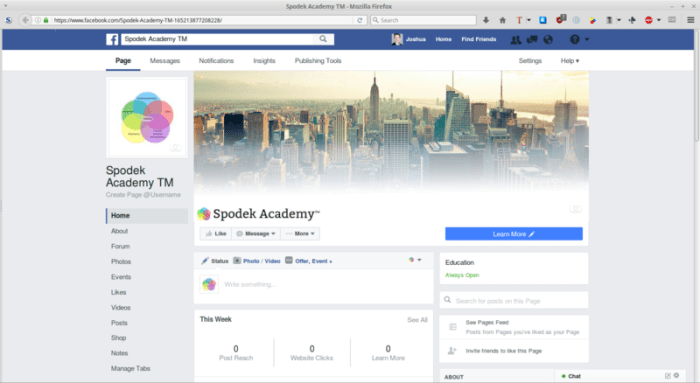 Spodek Academy on Facebook