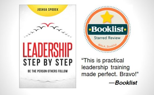 Booklist starred review Leadership Step by Step