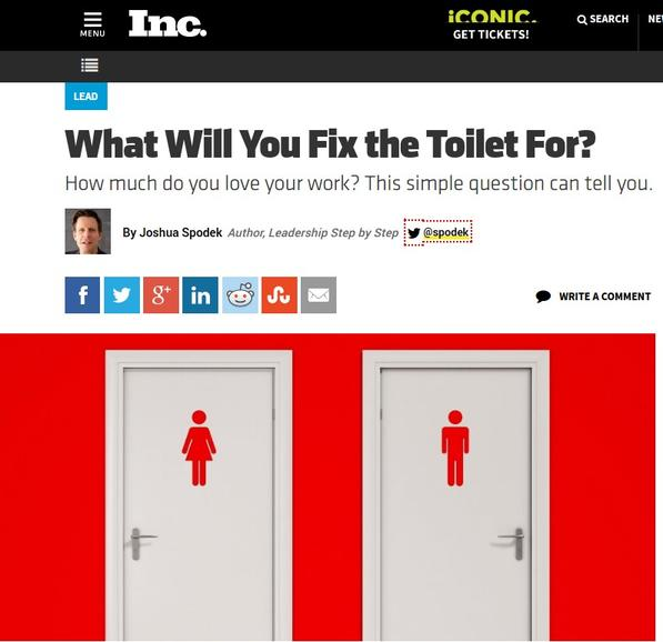 What will you fix the toilet for?