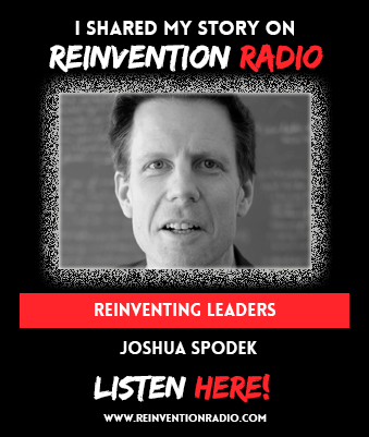 Joshua Spodek on Reinvention Radio with Steve Olsher