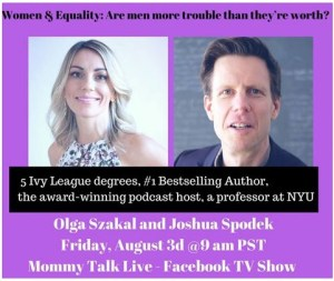 Mommy Talk Live with Olga Szakal