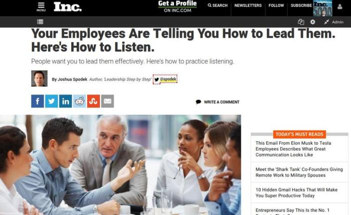 Your Employees Are Telling You How to Lead Them. Here's How to Listen.
