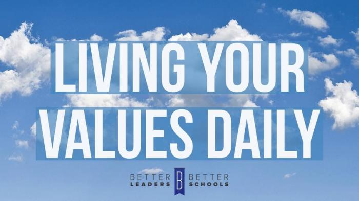 Living Your Values Daily -- Better Leaders Better Schools' Joshua Spodek interview