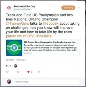 Leadership and the Environment is Player.fm's Podcast of the Day