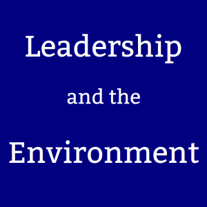 Leadership and the Environment podcast