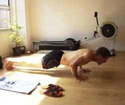 A recent morning burpee