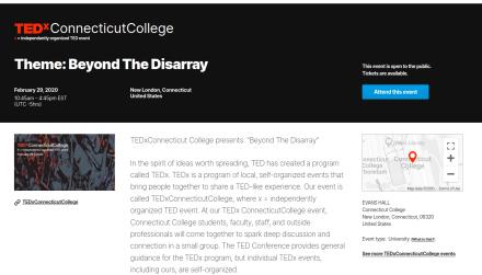TEDxConnecticutCollege