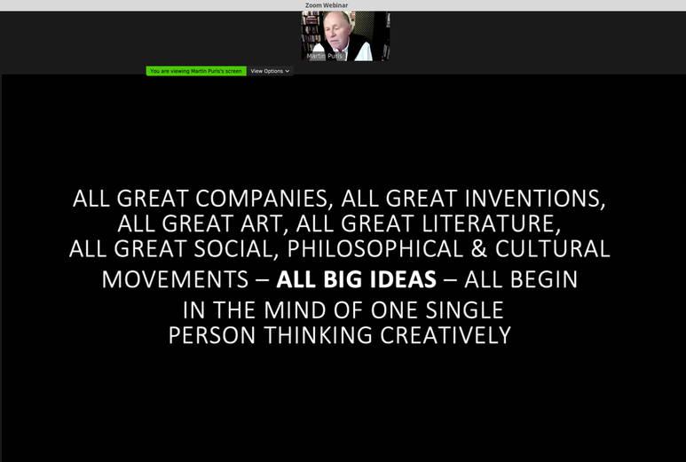 Martin Puris all big ideas