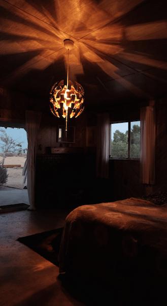 bedroompostsunset