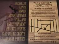 Lakeside Cafe Promo Card