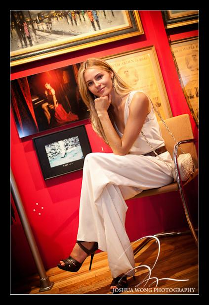 Top Model Valentina Zelyaeva. Photography by NYC Fashion photographer Josh Wong Photography