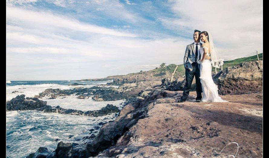 Haiku Mill Destination Wedding, Maui Hawaii - Jenn & Stephen - Wedding Pictures by Destination Wedding Photographer Josh Wong Photography,