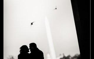 Washington DC Engagement Photos with Washington DC Wedding Photographer Josh Wong Photography